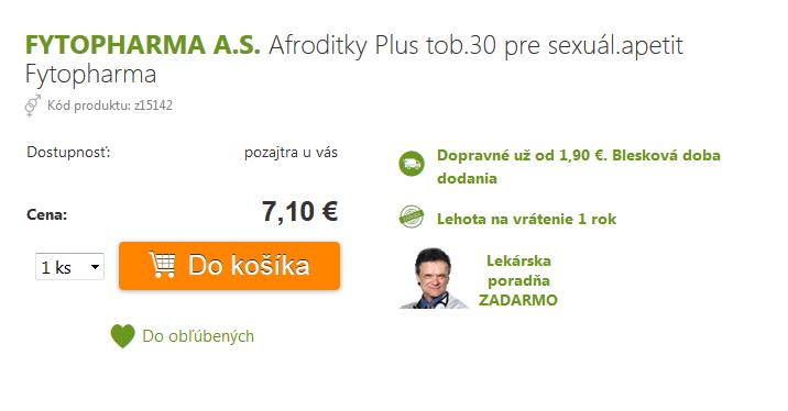 Afroditky plus cena 7€