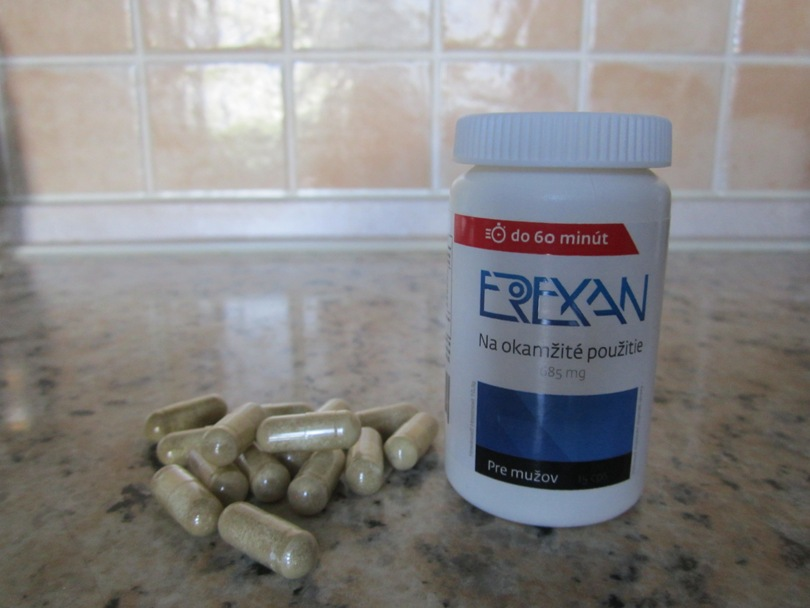 Erexan - recenzia prípravku na erekciu